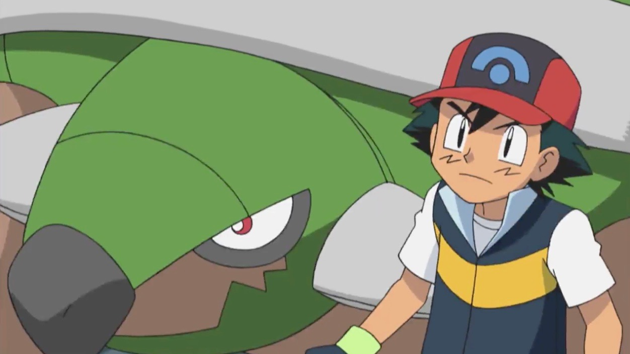 Ash and Torterra