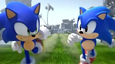 Sonic generations trailer screenshot