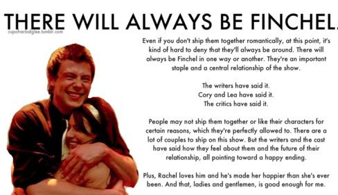 There Will Always Be Finchel