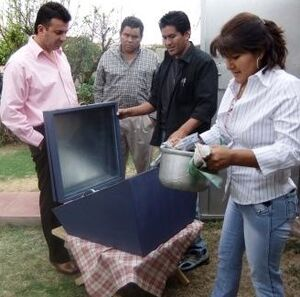 CECAM solar oven demonstration