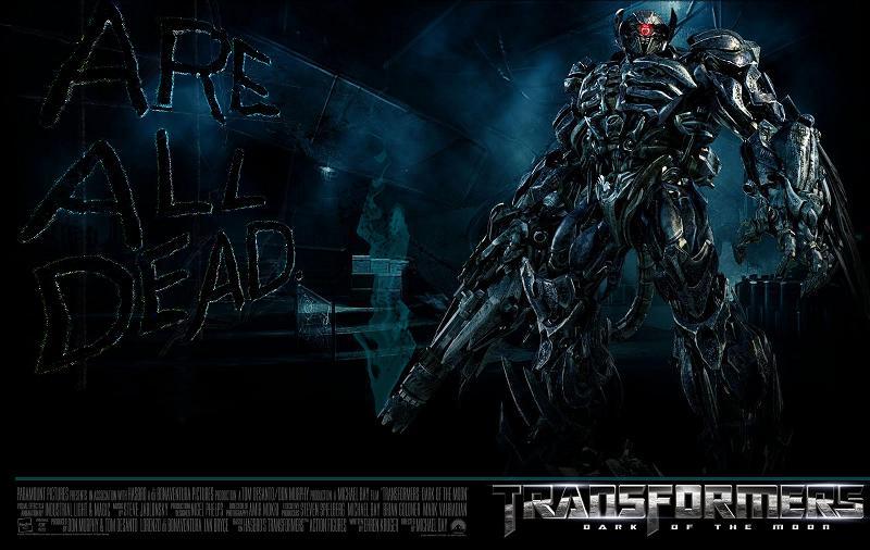 transformers dark of the moon shockwave figure. Shockwave ( Transformers Dark