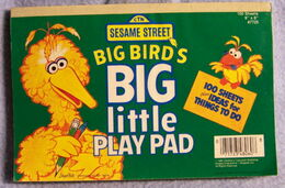 Big birds big little play pad 1