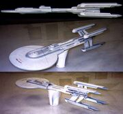 Excelsior Class 4-engine original concept designs by Nilo Rodis