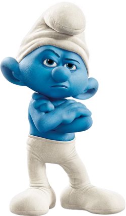 Movie Grouchy Smurf