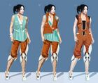 Portal 2 PotatoFoolsDay ARG Chell Outfit Concept Art