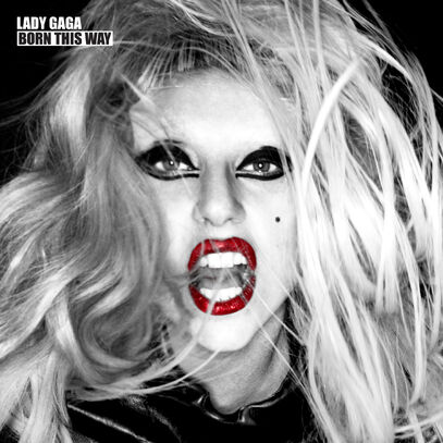 lady gaga born this way cd artwork. makeup Lady Gaga has revealed