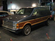1986 Dodge Caravan Smithsonian National Museum of American History