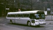 Suburban-type GM New Look bus - Pittsburgh, 1984