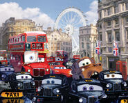 London bus scene simplenew