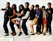 Glee cast yeeeh