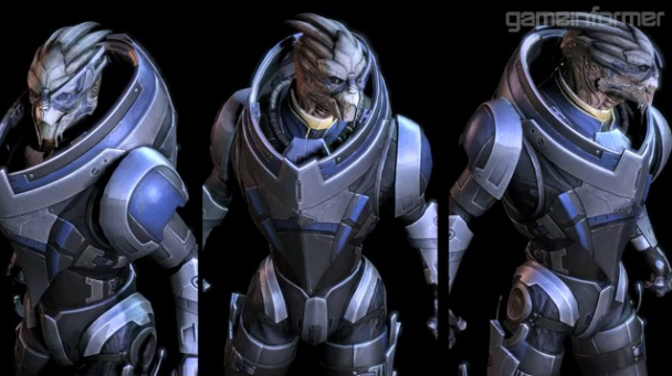 Mass Effect alien lesbianas