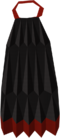 Obsidian cape detail