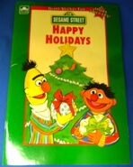 Happy holidays sticker book lauren attinello golden 1991