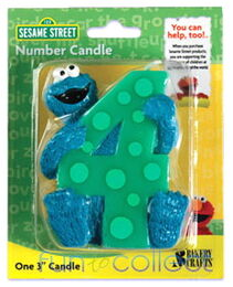 Bakery crafts cookie candle 4