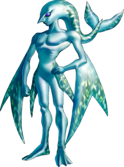 Zora Artwork (Ocarina of Time)