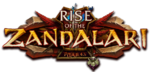 Rise of the Zandalari logo