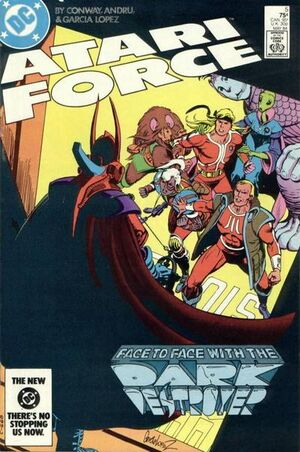 Cover for Atari Force #5