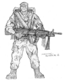 Machinegunner