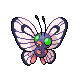 Butterfree M Plat shiny
