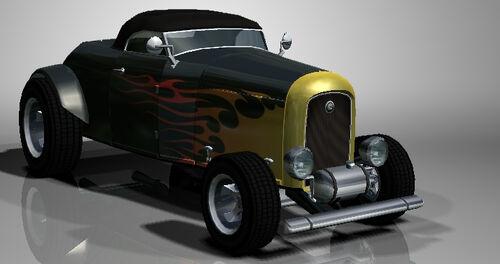 hot rod  burnout 2