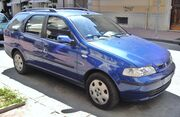 Fiat Palio Weekend blue