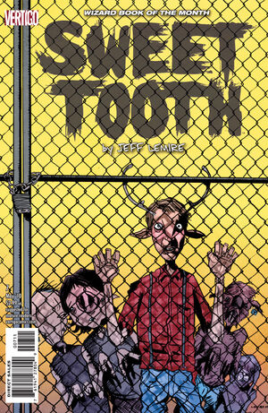 Cover for Sweet Tooth #7