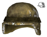 Combat helmet