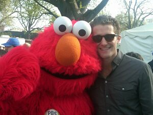 Elmo - Matthew Morrison - 2010 White House Easter