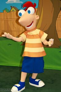 Phineas in Park Form