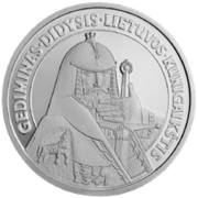 Gediminas the Grand Duke of Lithuania Reversum