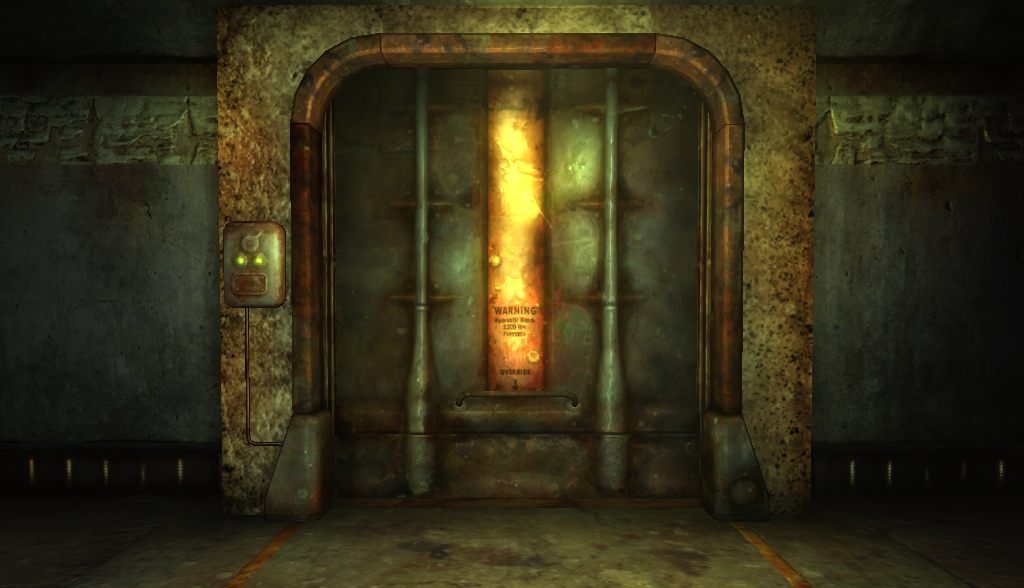 Fallout Vault Door Done By Me In 3d Fallout