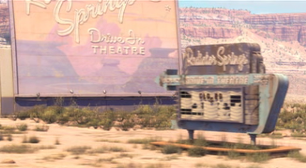 Radiator Springs Drive-In Theatre during the day.png