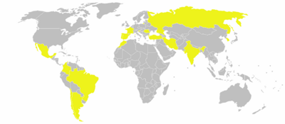 World locations of Renault factories