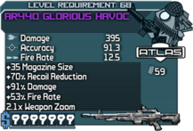 AR440 Glorious Havoc happypal