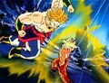 Goku and Broly
