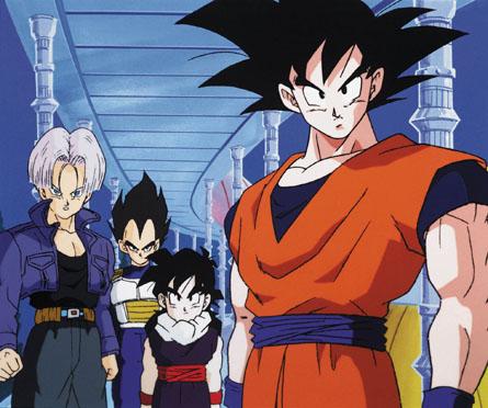 goku and vegeta. Gohan,Goku