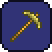 Gold Pickaxe crafting