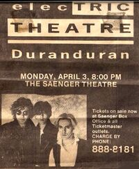 3 - DURAN DURAN SAENGER THEATRE ADVERTpng