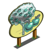 Chrome Apple Tree Mastery Sign-icon