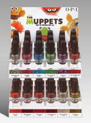 Muppet nail polish 2