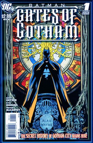 Cover for Batman: Gates of Gotham #{{{Issue}}}