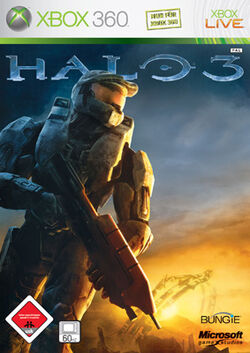 Halo 3 Covfer Microsoft USK 18