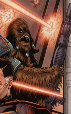Aurodium Sword Wookiee