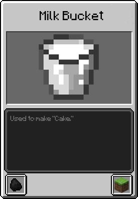 Milk Bucket Minecraft Milk bucket - Minecraf...