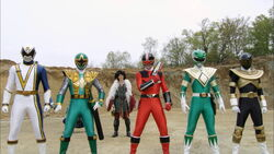 Sixth Ranger Clones