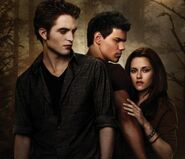 Edward, Jacob and Bella - New Moon Poster