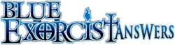 Blue-Exorcist Answers-wordmark