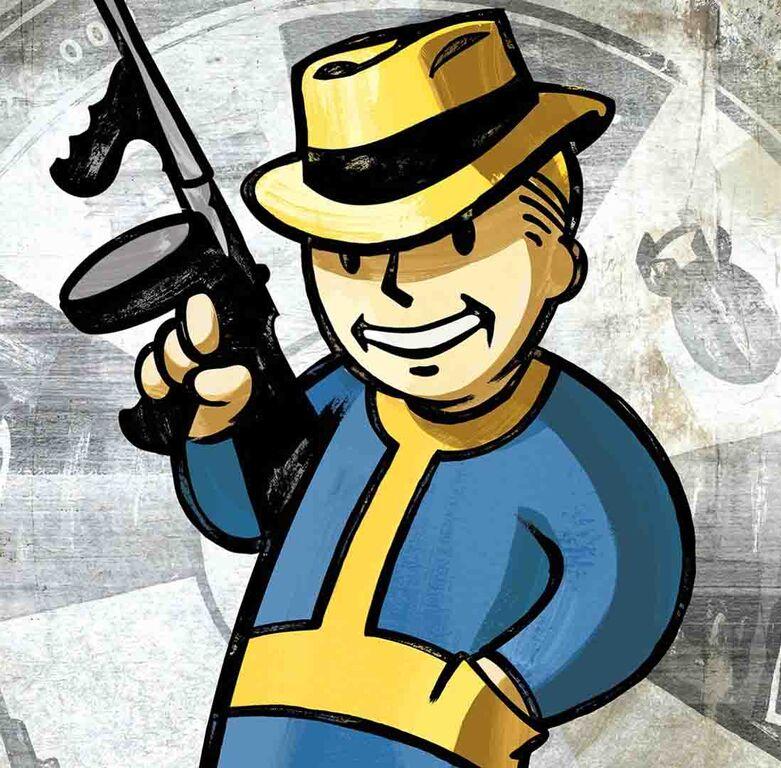 Vault Boy Perks Fallout New Vegas Vault Boy