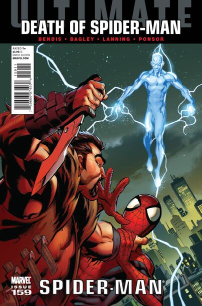 Ultimate Spider-Man159 comic book