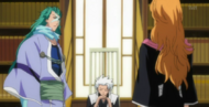 Hitsugaya informs Rangiku of the thefts